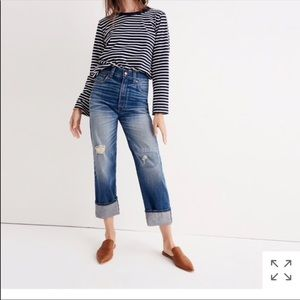 Pants - Madewell Rivet and Thread Worker Selvedge Jeans
